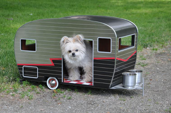 Straight Line Designs' camper van for dogs