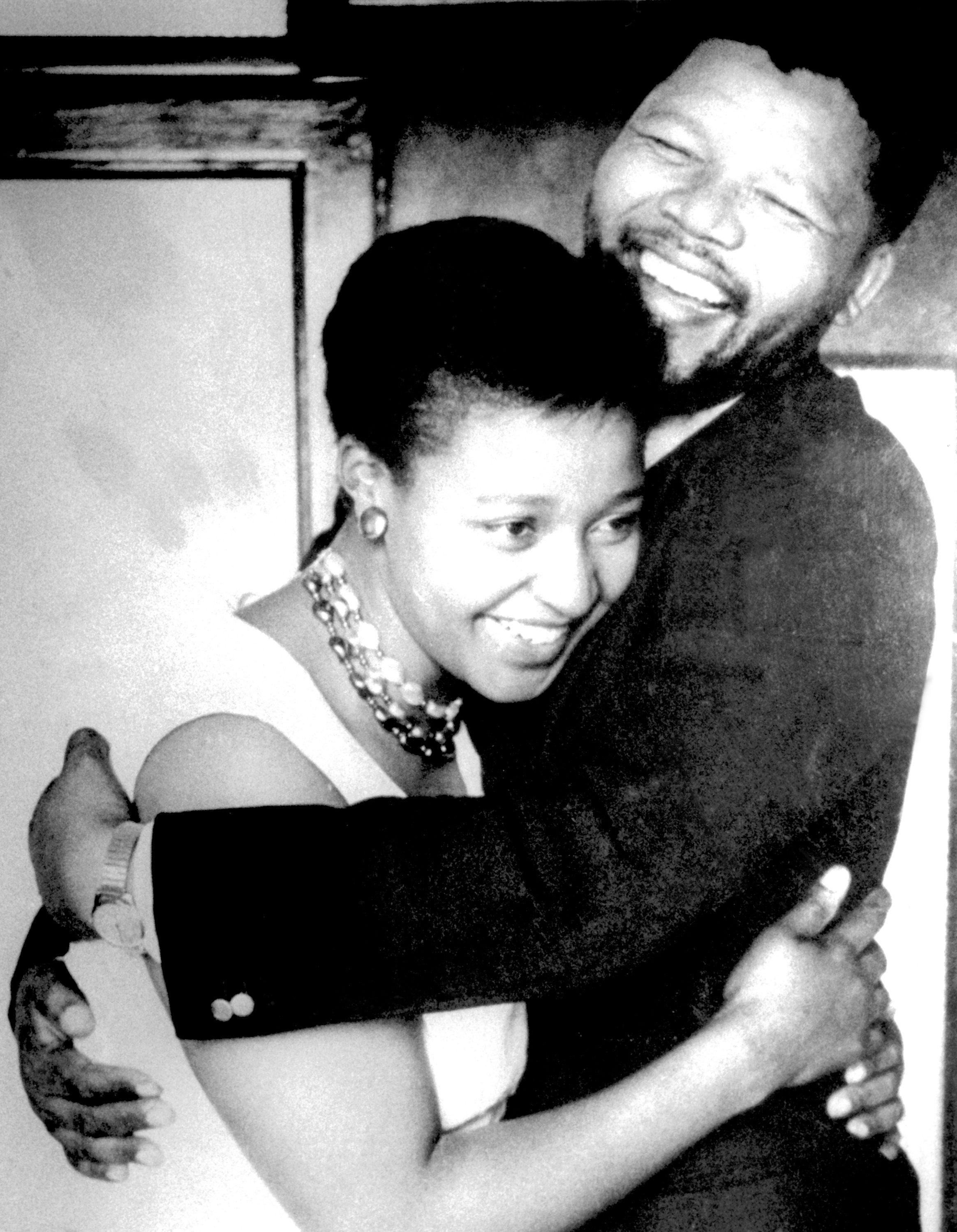 Powerful videos showing Winnie Mandela in action against apartheid
