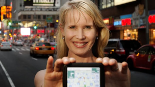 Karen Jacobsen is not only the voice of Siri, she's also the voice of GPS product Tom
