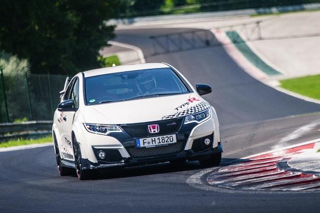 Honda Civic Type R sets new benchmark time at Hungaroring with Honda's WTCC driver Norbert Michelisz