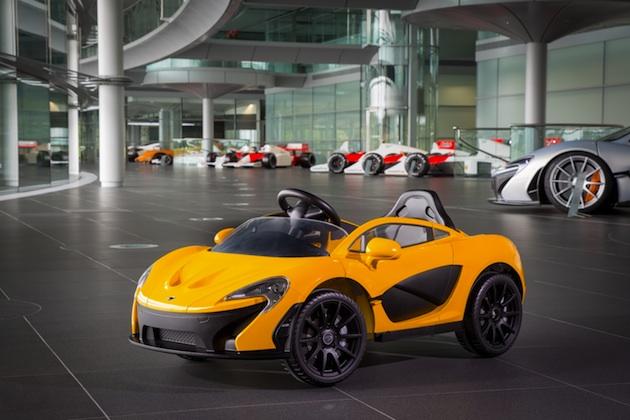マクラーレン、スーパーカー「P1」の電気自動車バージョンを発表! ただし3〜6歳のドライバー向け