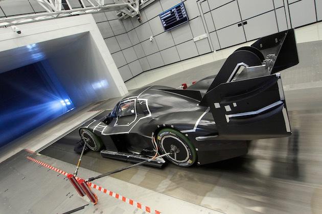 【ビデオ】フォルクスワーゲン、パイクスピークで電気自動車最速タイムを目指す「I.D. R Pikes Peak」の空力テストの様子を公開