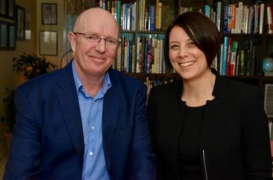 Authors Gerard Castles and Davina