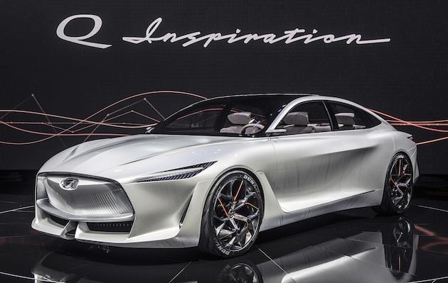【北米国際オートショー2018】インフィニティ、可変圧縮比エンジンを搭載するセダンのコンセプト「Qインスピレーション」を発表!