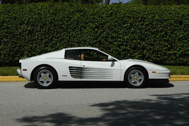 映画『ウルフ・オブ・ウォールストリート』のモデルとなった人物が所有していたフェラーリ「テスタロッサ」が販売中
