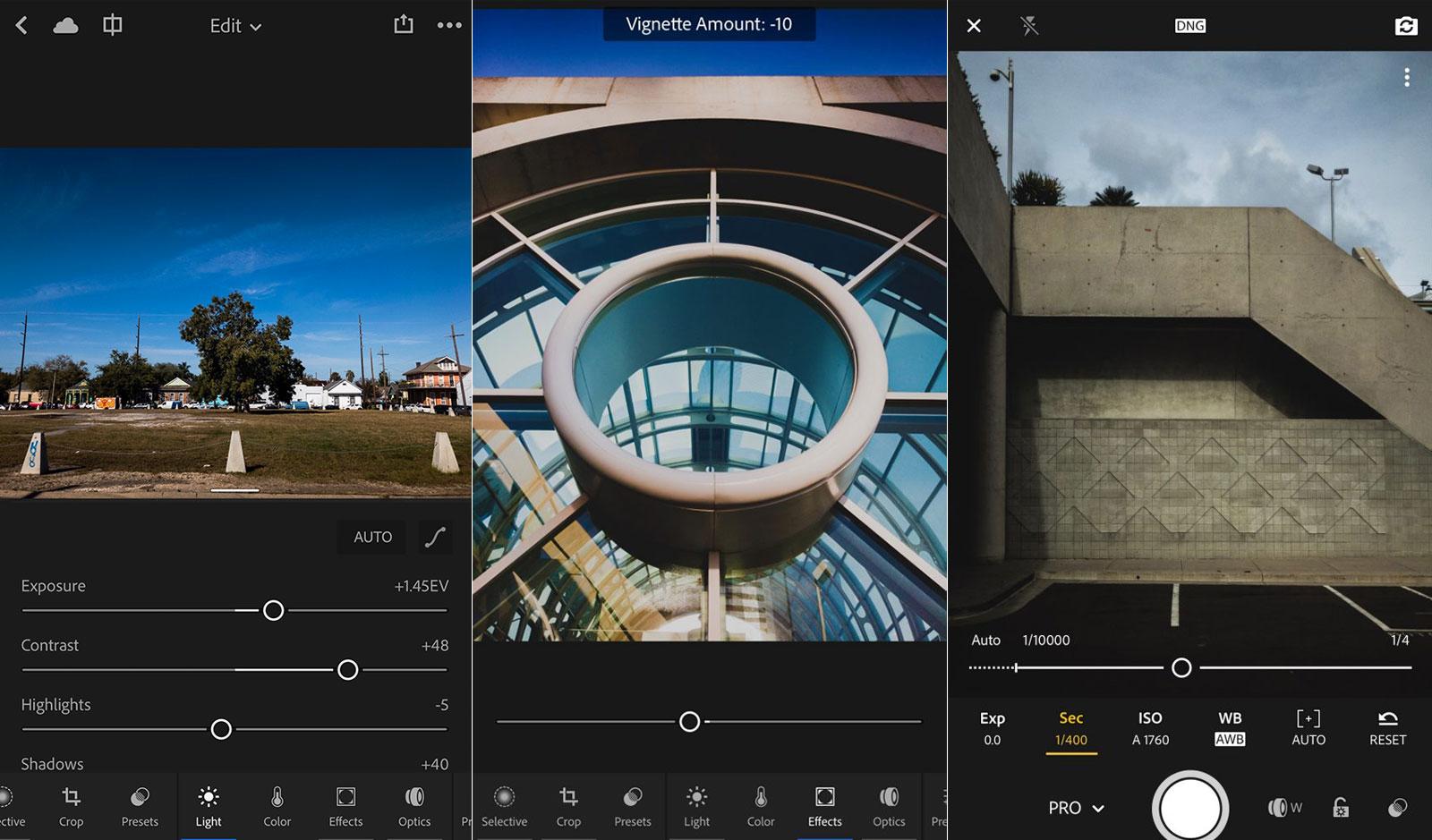 Adobe Lightroom 更新让 iOS 修图变得更简单