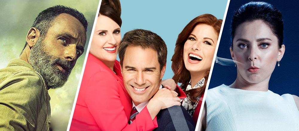 Les dates de retour des séries télé américaines et des nouveautés de la saison