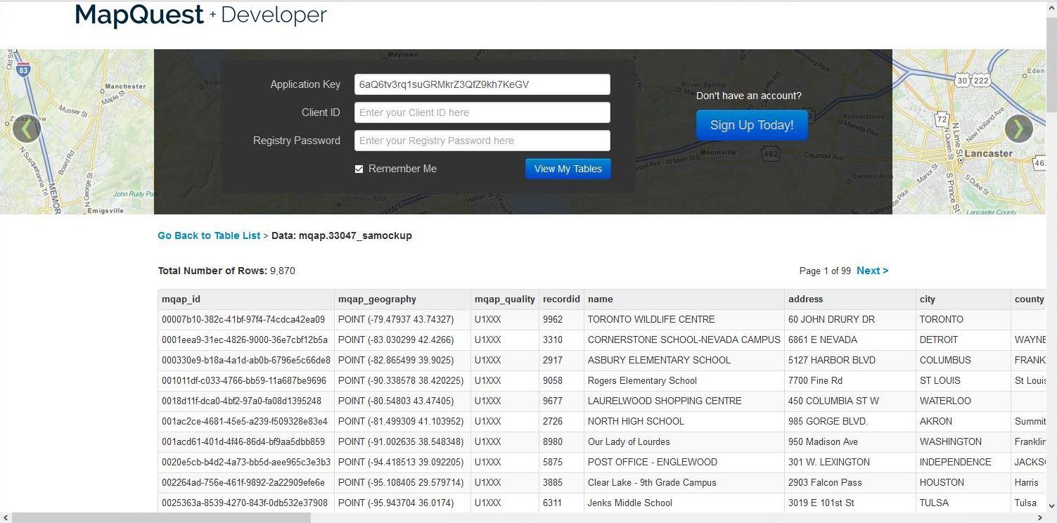 MapQuest\'s Top Hidden Gem APIs