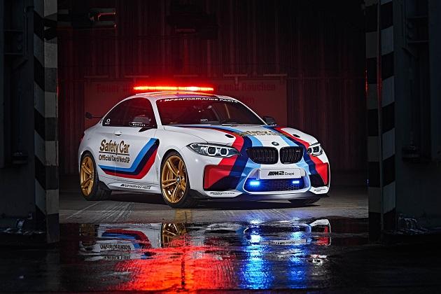 BMW、MotoGPのセーフティ・カーとなった「M2」を公開(ビデオ付)