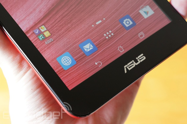ASUS MeMO Pad 7 ZenUI up close
