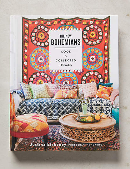 bohemian home decorating book