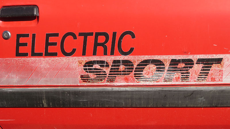 Electric Sport Chevrolet Sprint