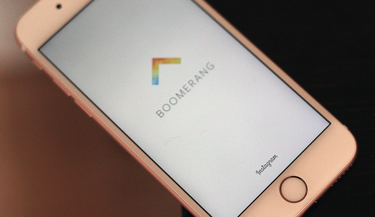 Instagram 新推 Boomerang 应用,让你循环播放连拍照片