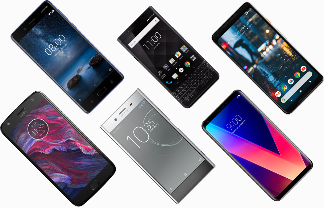 Top Android Handys