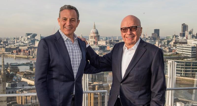 Robert Iger & Rupert Murdoch
