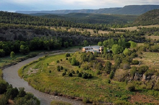 aerial jane fonda ranch