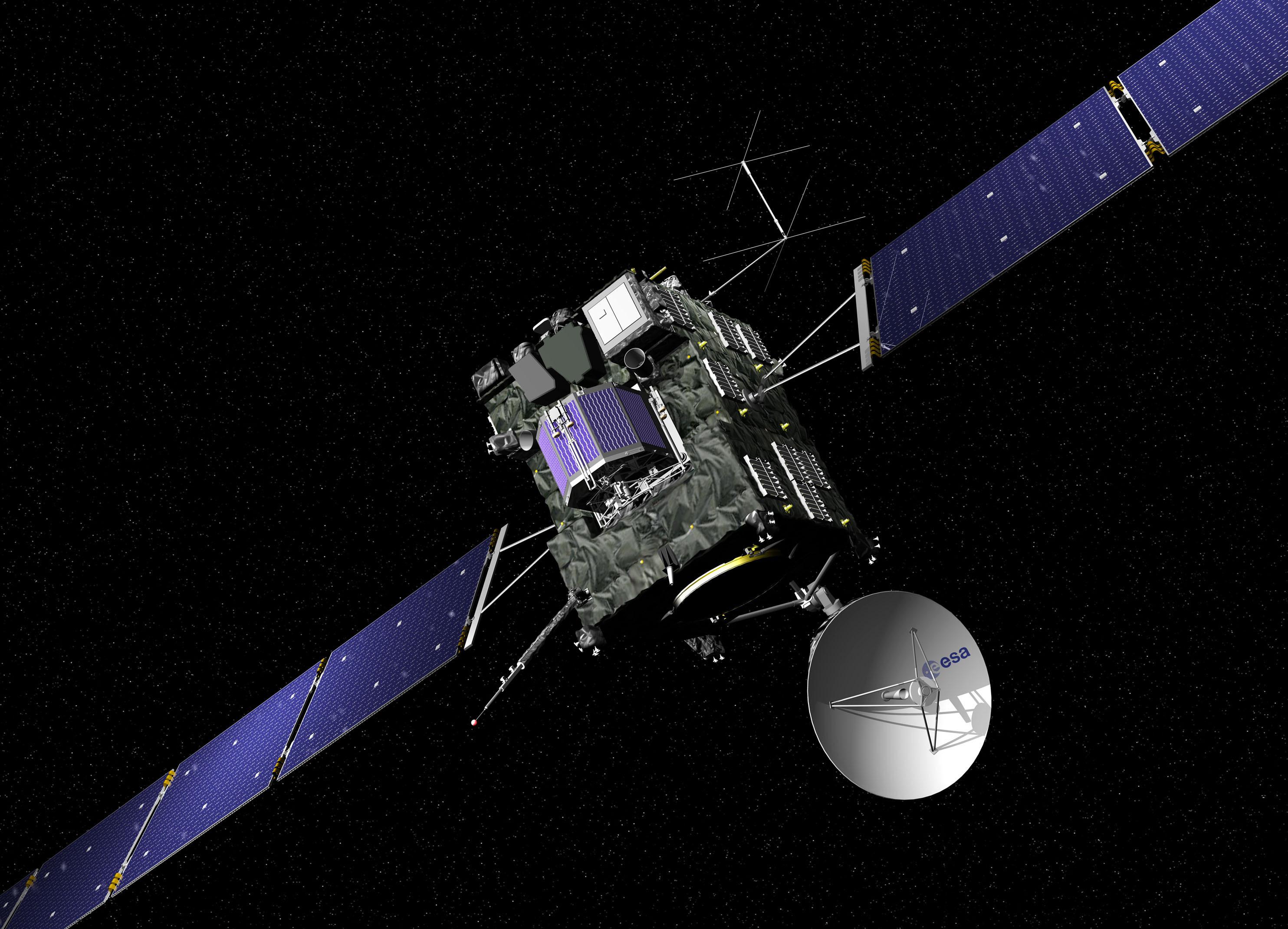 Rosetta 探测器任务终结,最终归宿就在彗星表面