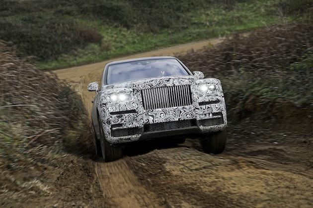 ロールス・ロイス、新型SUVの車名が「カリナン」になると認める! カモフラージュ姿の写真を新たに公開