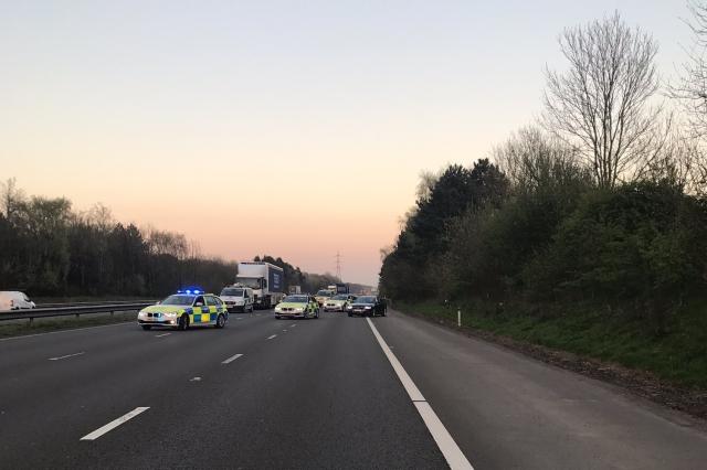 M4 motorway death