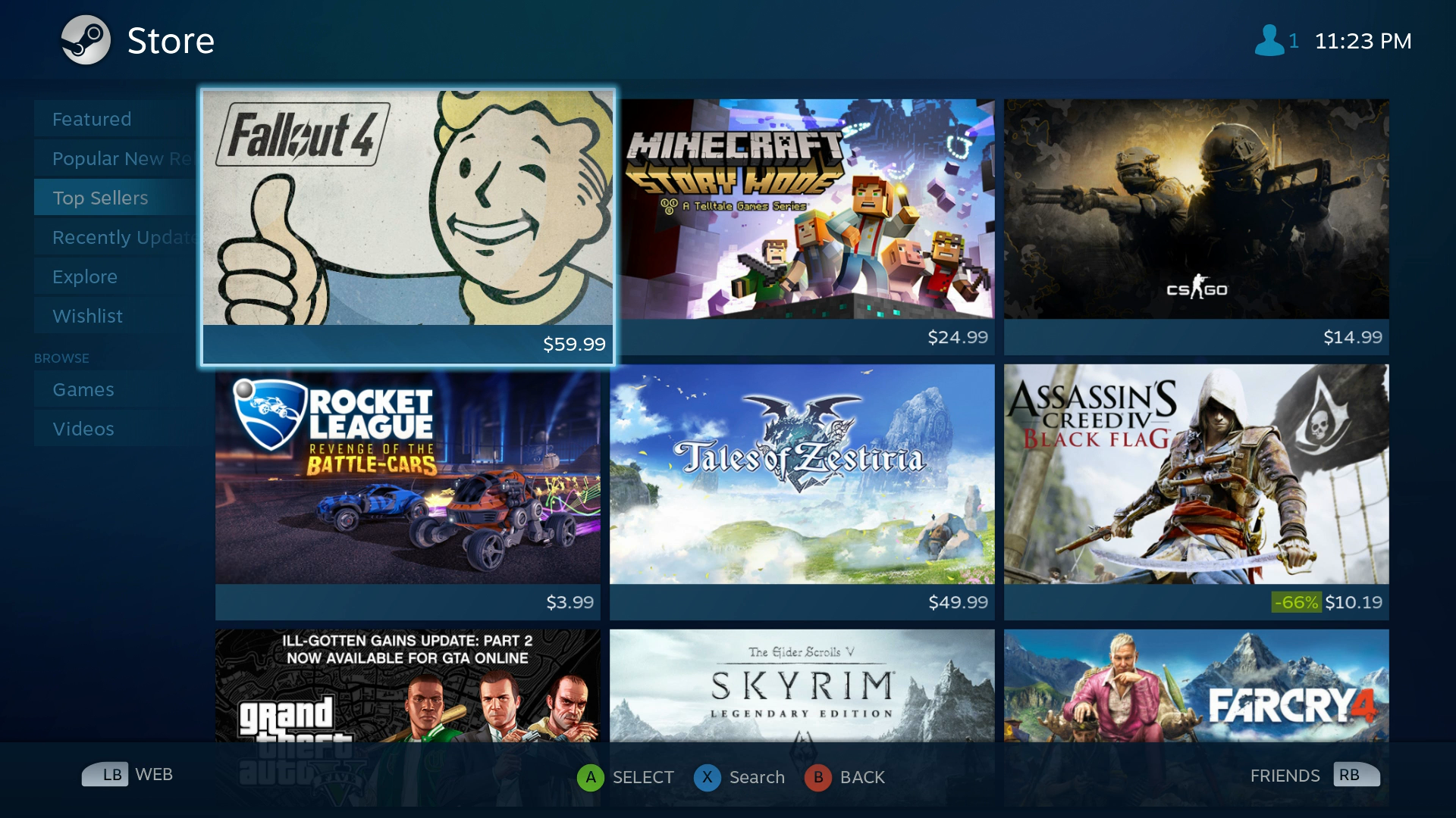 compatible with steam machine