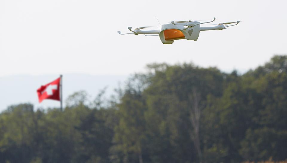 瑞士邮政将测试无人机送递服务