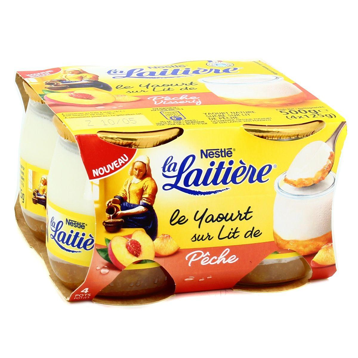 Nestlé rappelle des yaourts La Laitière pour