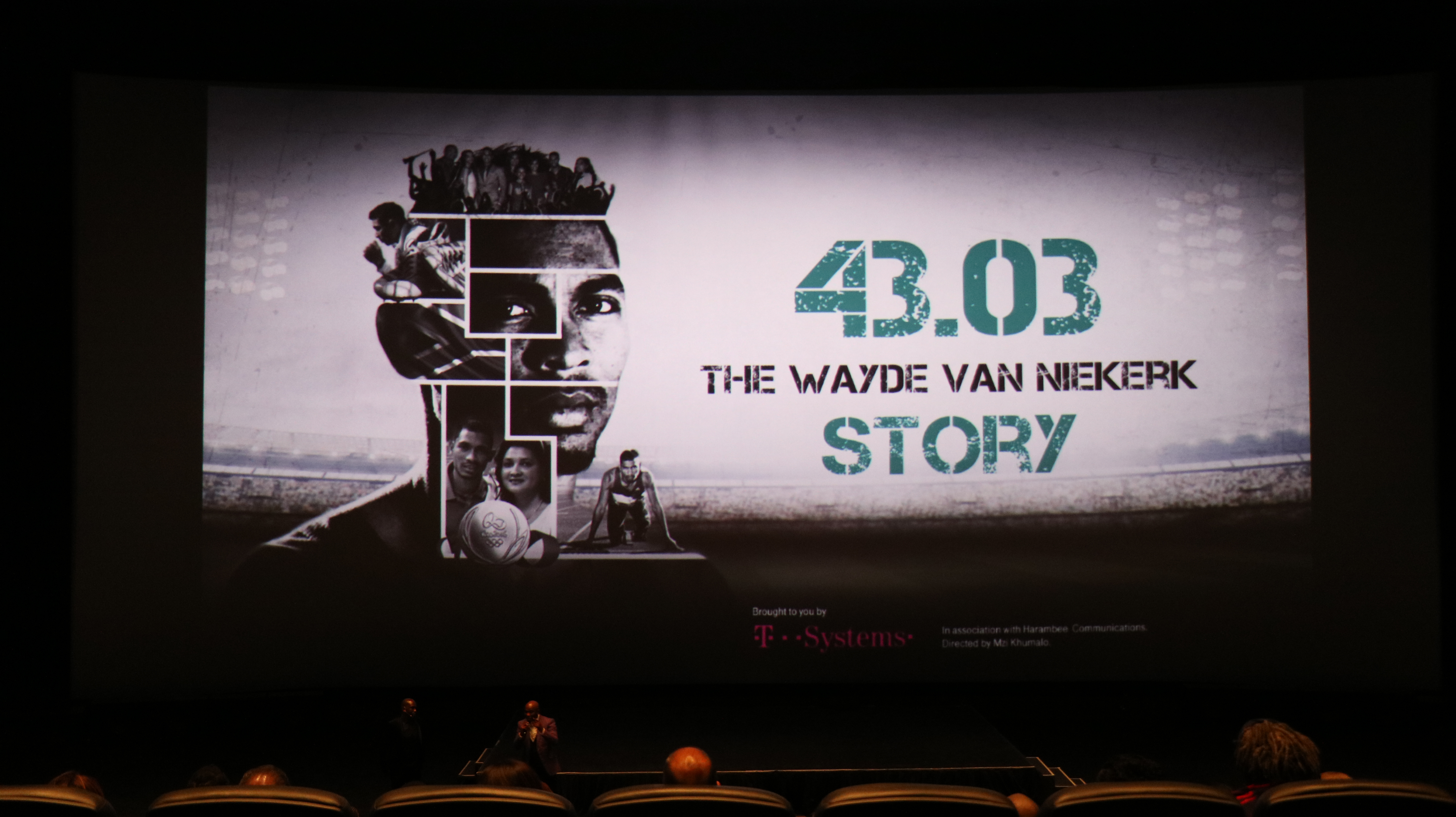 Journalists, sports stars and fans were treated to the launch of the Van Niekerk documentary at
