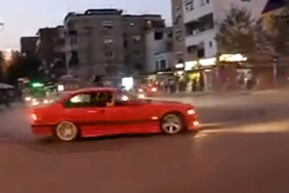 BMW donut video