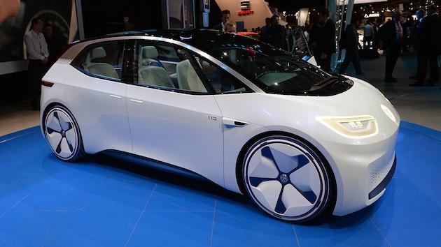 【パリモーターショー2016】フォルクスワーゲン、次世代電気自動車のコンセプト「I.D.」を発表 2020年に市販化予定