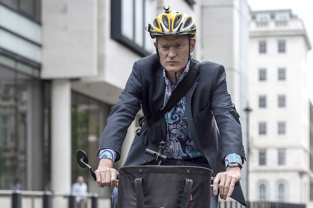 File photo dated 19/07/17 of Radio 2 presenter Jeremy Vine, who has said he regrets the fact the female motorist who screamed abuse at him during a road rage incident while he was cycling down a narrow London road was sent to jail.