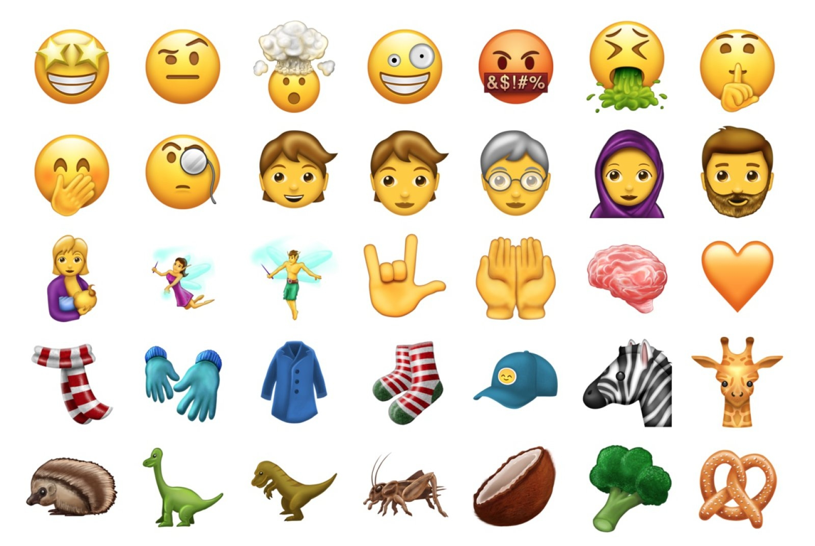 Emojis For Zombies T Rex And Colbert Are Almost Here