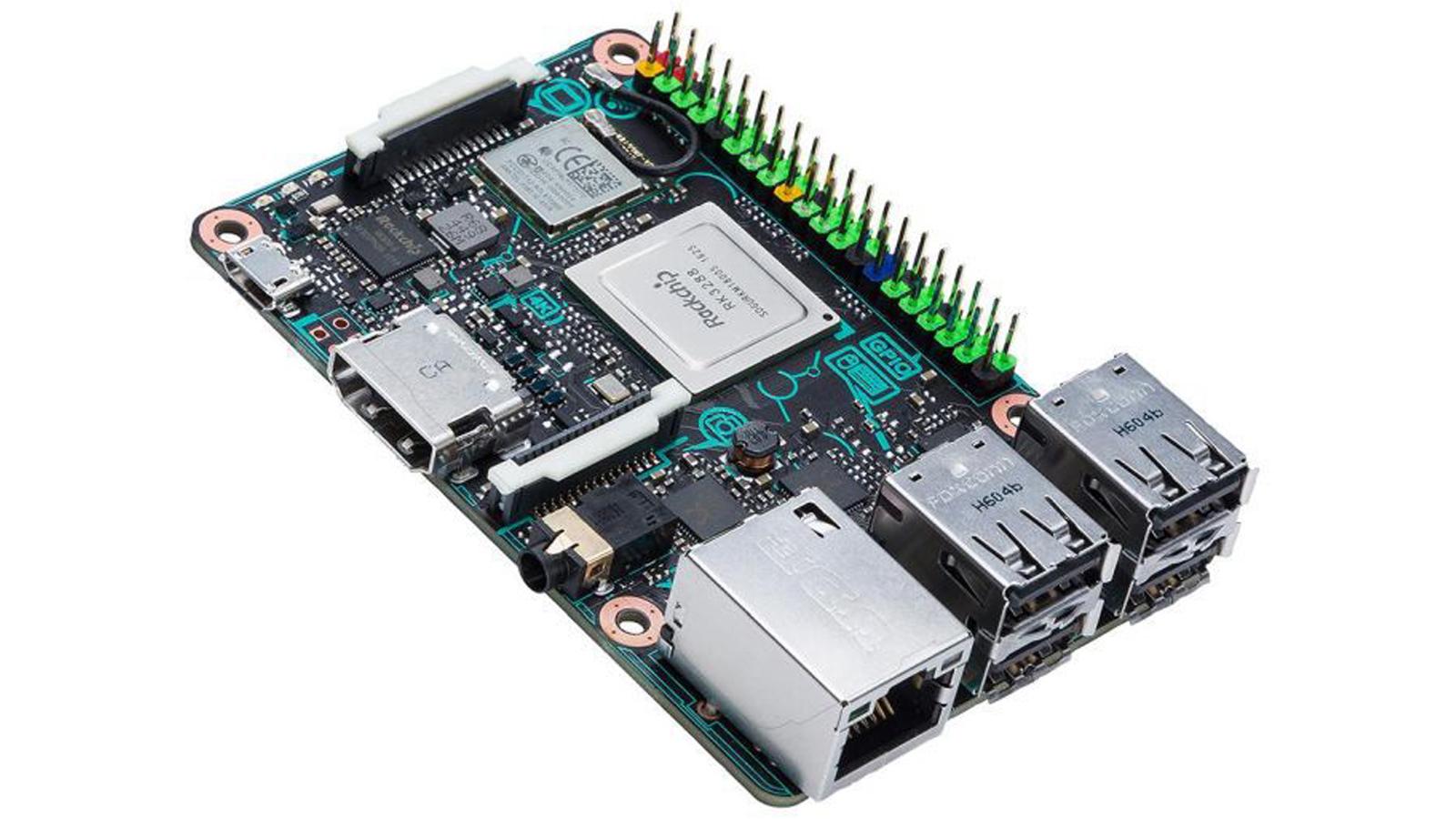 瞄准 Maker 市场,华硕也推「类 · Raspberry Pi」主机板