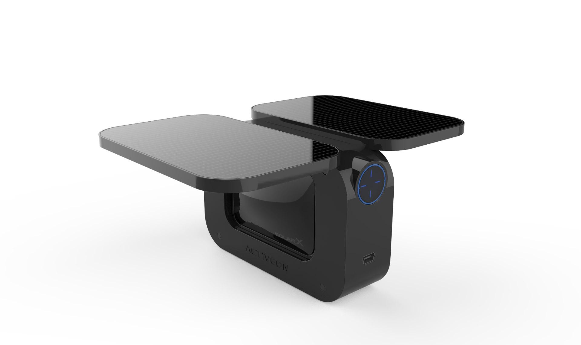 這台太陽能運動攝影機一個小時就能把自己充飽