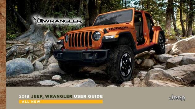 新型「ジープ ラングラー」の取扱説明書が流出!? 電動スライディングルーフや4WDオート・モードの採用が明らかに