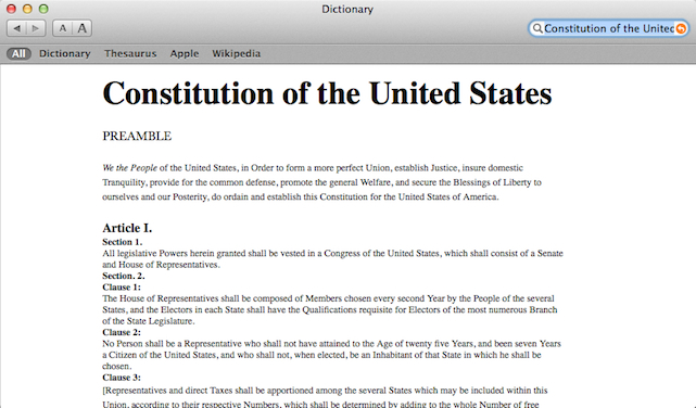 thesis statement on the constitution