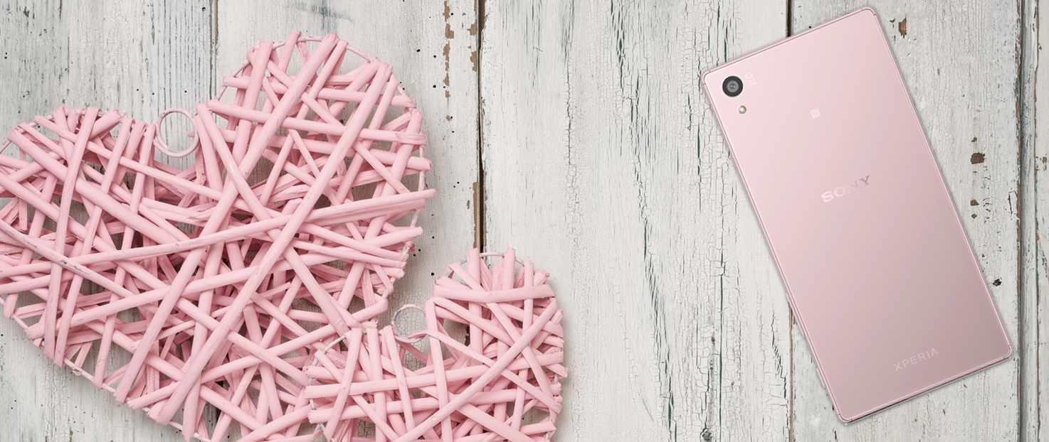 Sony lanza su Xperia Z5 en elegante color rosa palo