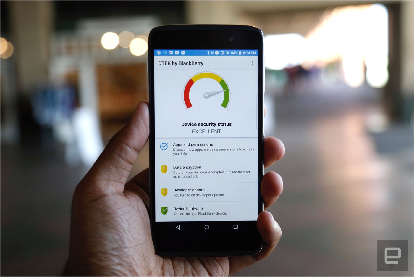 BlackBerry DTEK50 review: Cheap, secure and better than expected