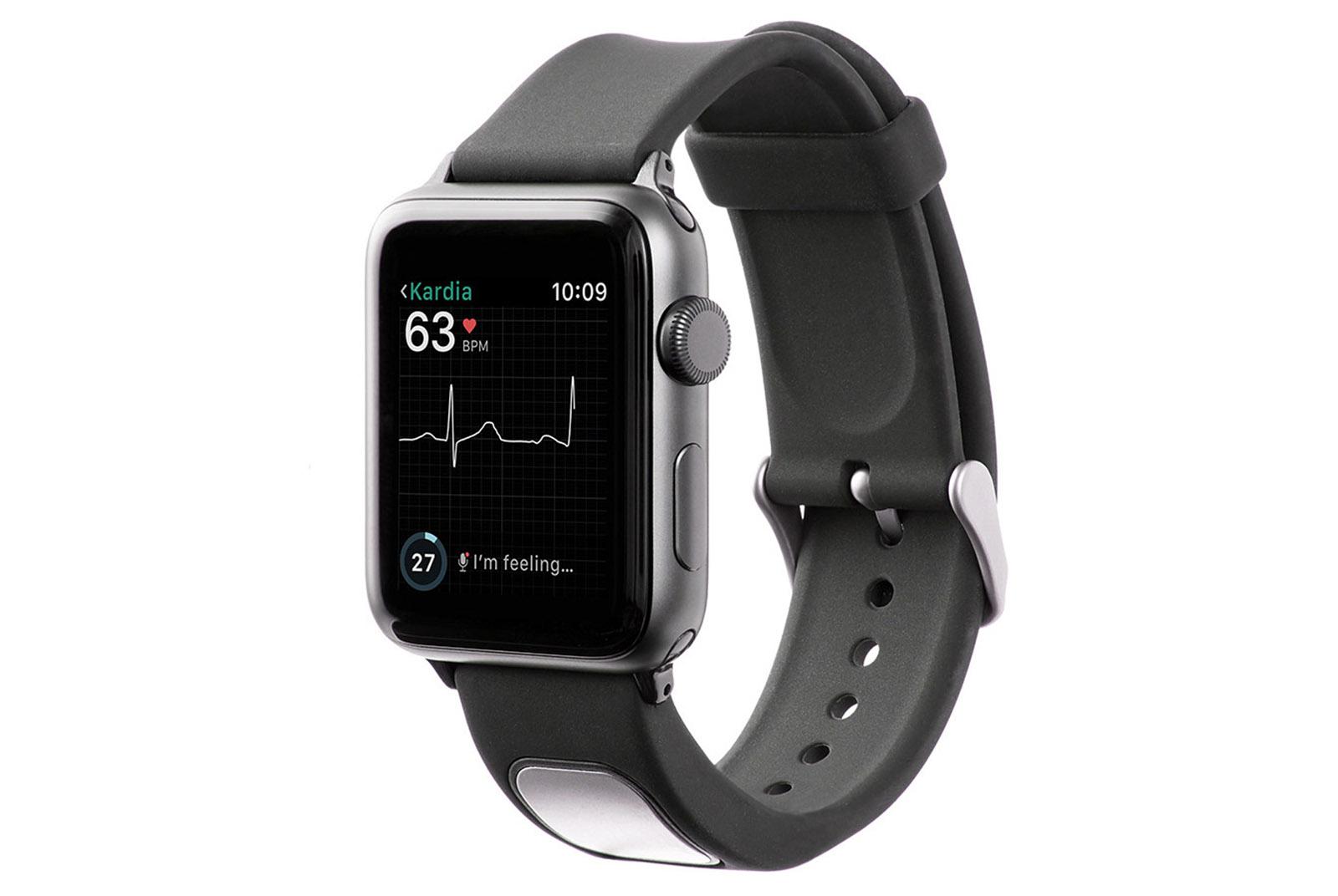 32e5afaa4f Apple Watchで心電図をとれるKardiaBand発表。心房細動など検出可能、FDA認証済みで199ドル - Engadget 日本版