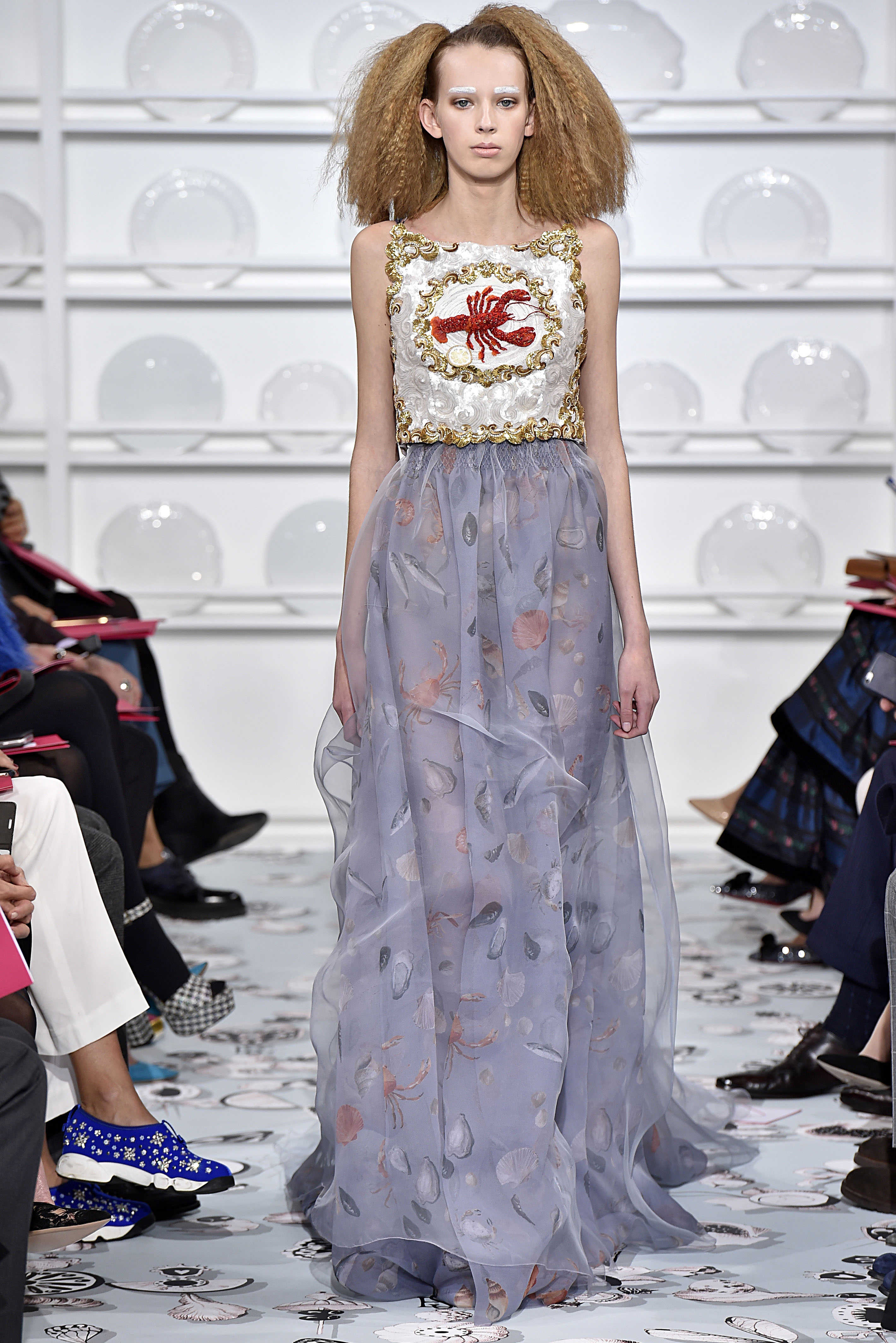 Schiaparelli : Runway - Paris Fashion Week - Haute Couture Spring Summer 2016
