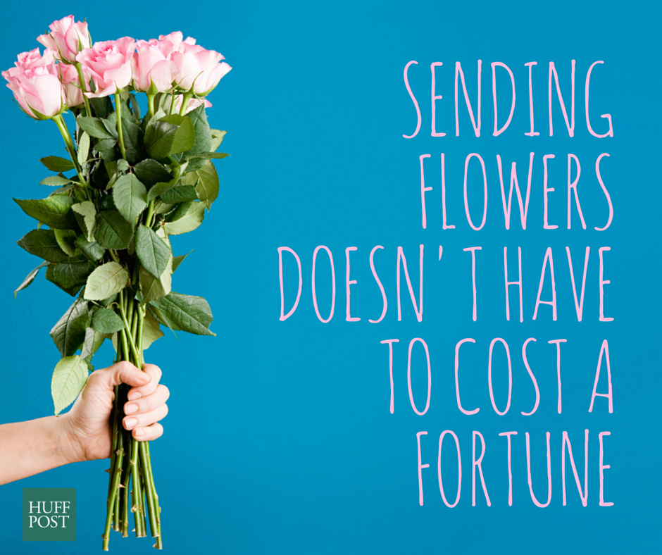 Sending Flowers Doesn't Have To Cost A