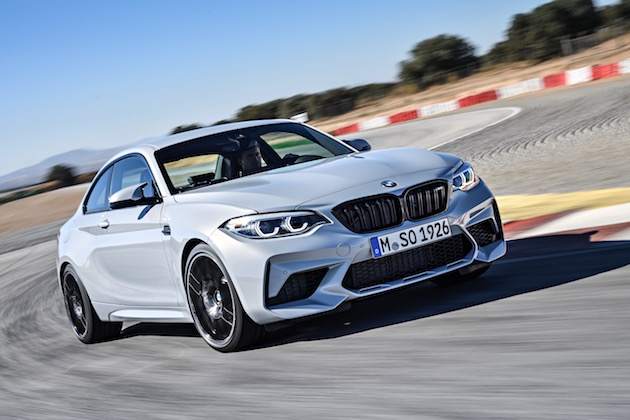 BMW、コンパクト・スポーツクーペの性能をさらに引き上げた「M2コンペティション」を発表!