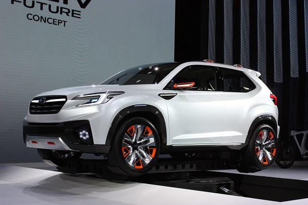 スバル、2021年に完全電気自動車のクロスオーバーを投入?