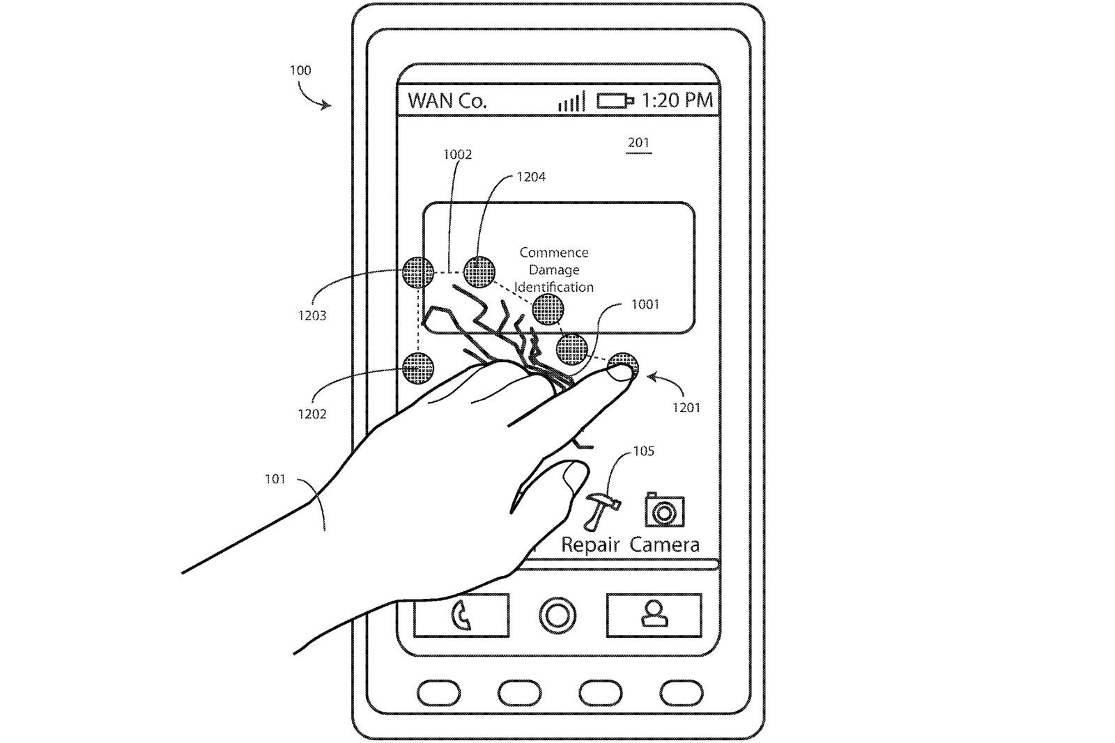Motorola 設計了一款螢幕有自我修復能力的手機