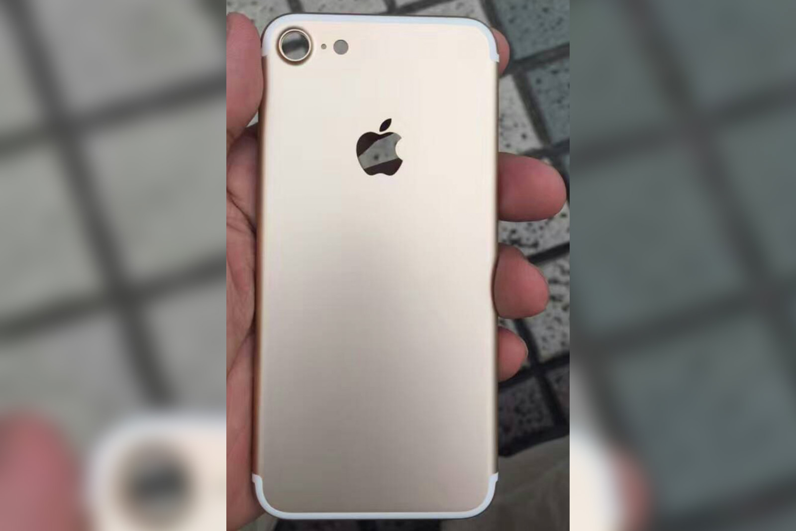 iPhone 7 spy shot offers a clearer look at its camera