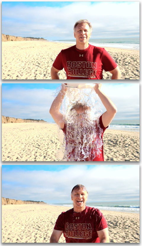 Apple's Phil Schiller takes the Ice Bucket Challenge for ALS