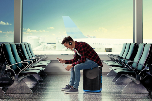 Jurni, sit-on suitcase for adults