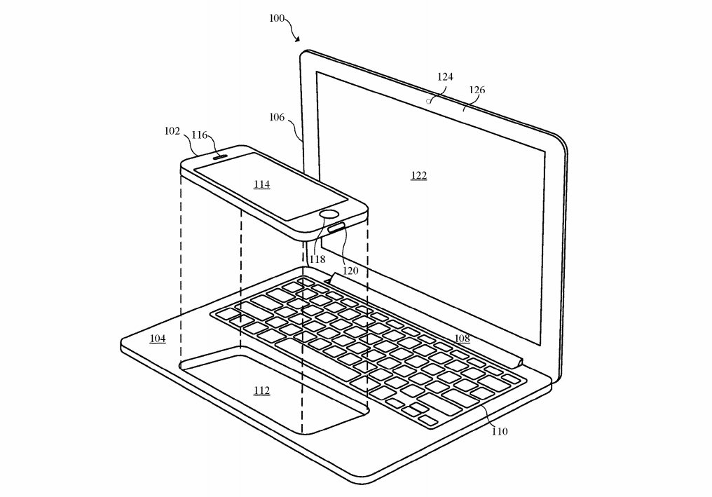 Apple's idea of a laptop powered by a phone