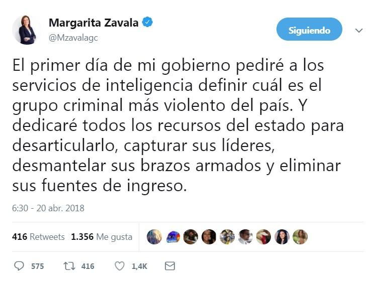 Llega Margarita Zavala a ensayo del debate