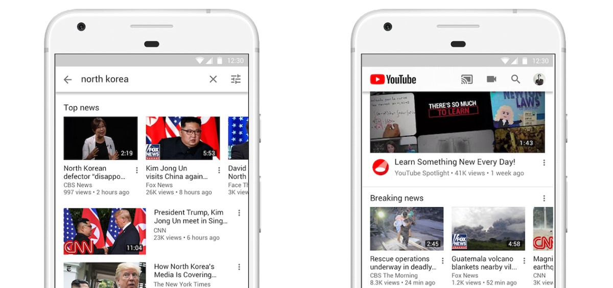 YouTube invests $25 million to fix its breaking news problem
