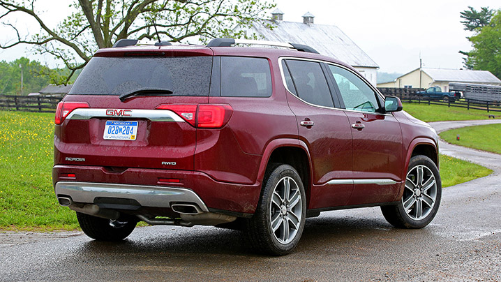 2017 gmc acadia first drive autoblog. Black Bedroom Furniture Sets. Home Design Ideas